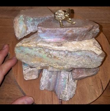 Light Opal Specimen