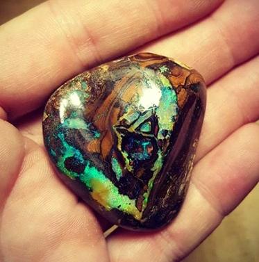 Matrix Opal Specimen - picture stone