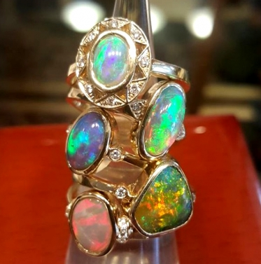 Beautiful Opal Rings