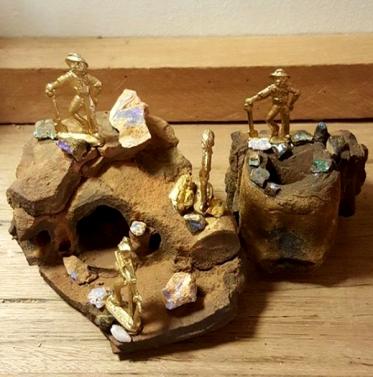 Opal Diorama