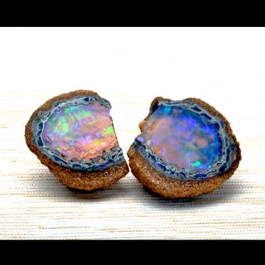 Crystal Boulder Opal Specimen